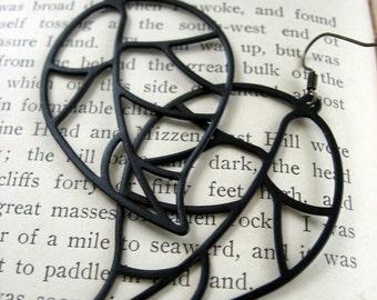 Everette Black Forest Earrings
