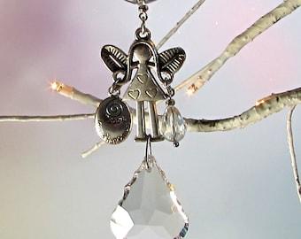 Fairy Crystal Sun Catcher & Christmas Ornament