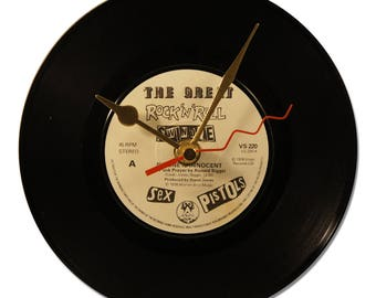 "SEX PISTOLS ""NO ONE IS INNOCENT"" VINYL clock 45tours"