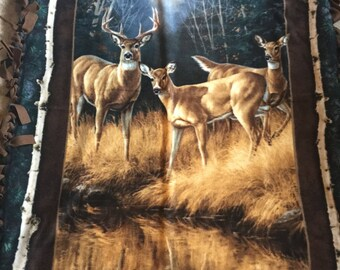 Deer Fleece Blanket