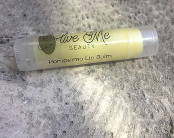 Pompelmo Lip Balm | Grapefruit and Basil Lip Balm | All Natural Chapstick | Moisutrizing Balm
