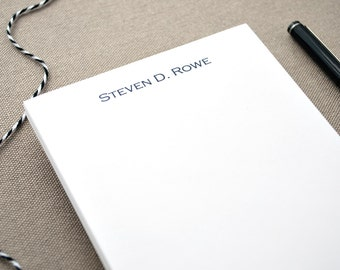 Custom Notepad with Name / Professional Small Notepad with Name / Personalized Memo Pad / Custom Notepad