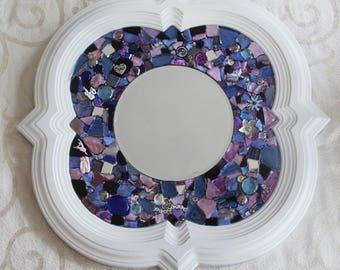 Custom-Made Mosaic Mirror for Jennifer
