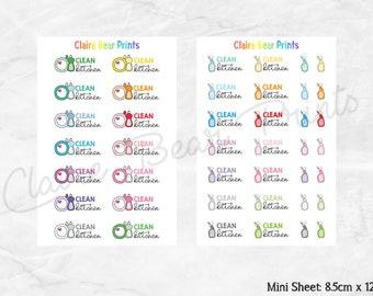 CLEAN KITCHEN Planner Stickers (2 options)