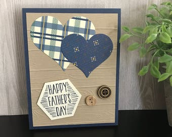 Happy Father's Day/Handmade Greeting Card