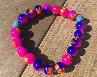 Out of This Galaxy - Essential Oil Diffusing Bracelet