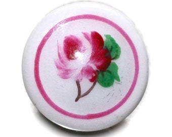 Button ~ Porcelain Old  - Small