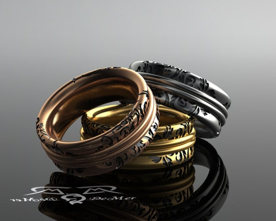 The Most Comfortable Ring Youll Ever Wear Solid gold