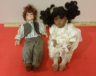 Vintage Dolls, Collector Choice by Dandee and Limited Edition Doll