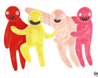 Jelly Boys Print