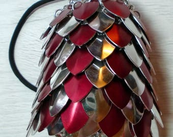 MADE TO ORDER - Large Scalemaille Bag