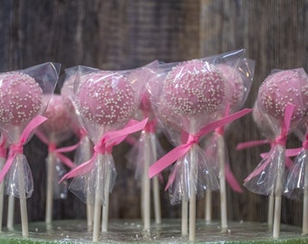 Vegan Cake Pop Party Favors