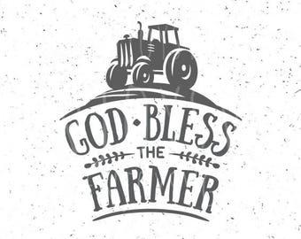 Farm svg God Bless the Farm Svg Family Farm SVG Farmer Svg Tractor svg Farm SVG file Tractor svg file God Bless the Farm SVG file Farmer Svg