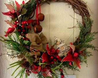Jingle Christmas Wreath