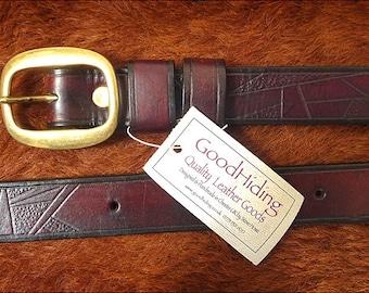 Handmade 'art deco' belt