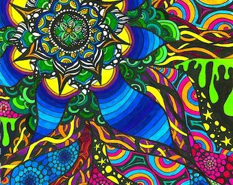 Cosmic Mandala Prints