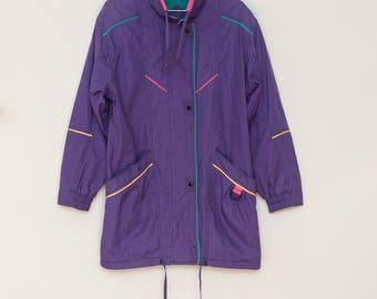 Vintage 80's Lightweight Snap Jacket