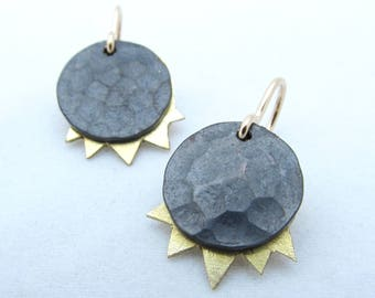 Solar Eclipse Earrings