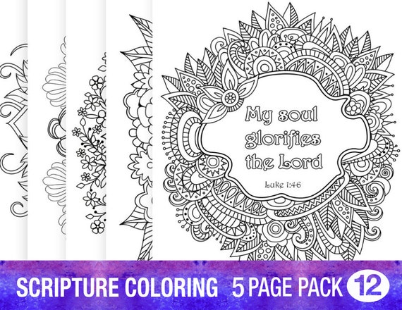 5 bible verse coloring pages inspirational quotes diy adult
