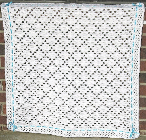 Pdf pattern crocheted baby afghan diamond lace baby afghan blanket this is a digital file dt1010fo