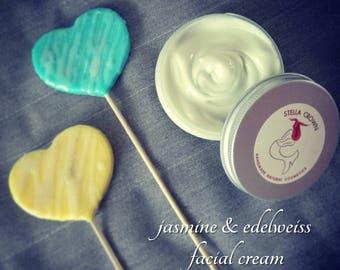 Facial Cream | κρέμα προσώπου | Normal and Combination Skin Types | κανονικές & μεικτές επιδερμίδες | Vegan Lotion | 100% Natural Cosmetics