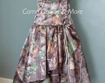 Prom Camo Gown, Camo Wedding Dress