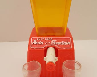 Vintage Andy Gard Toy Soda Fountain