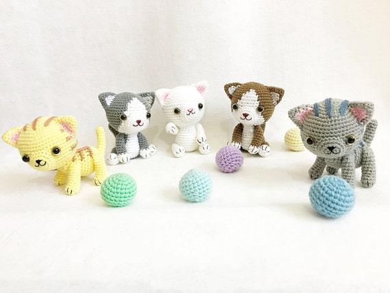 Amigurumi Cat Doll : Amigurumi crochet cat doll crochet kitten gang amigurumi