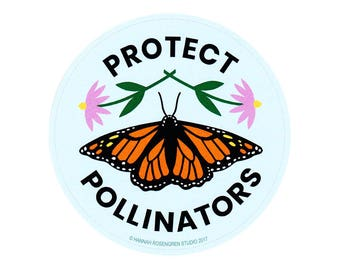 Protect Pollinators Sticker