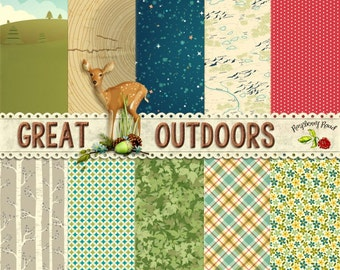 Great Outdoors Paper Set