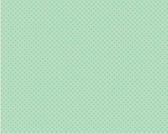 Sweetmint Tone on Tone Kisses from Riley Blake Fabric's Kisses Collection