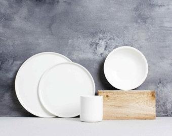 Classic White Tableware - Full Setting