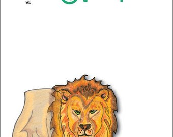 Notecards Lion (Jungle)