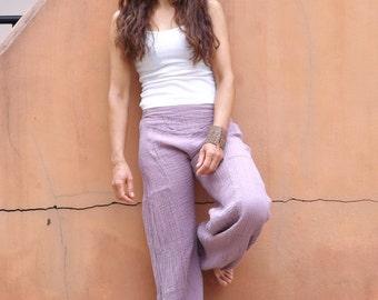 Aladdin Pants ...Womens pants... Color Lavender