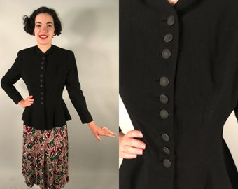 """Vintage 1940s Jacket 