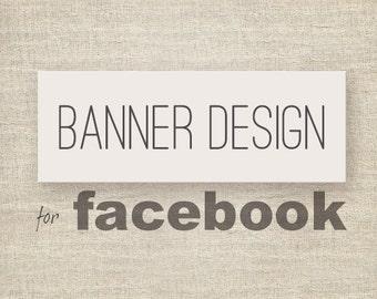 Custom Facebook banner design.