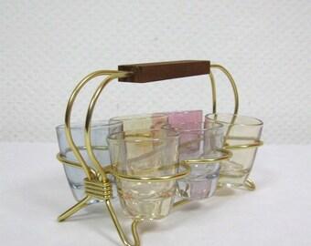 50s Brandy Glass Frame