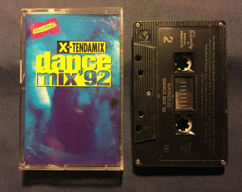 Dance Mix 92 Cassette Tape X Tendsmix 1992 Release - Dance , Techno