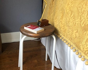 Side Table/Nightstand/StoolHandmade-Reclaimed Material