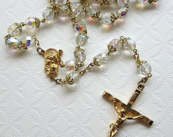 Rosary Necklace with Crucifix