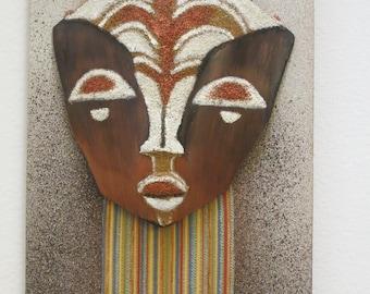 Decorative wall hanging mask