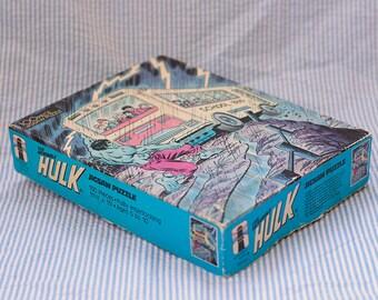Vintage Incredible Hulk 100 pieces Jigsaw Puzzle - 1988 Marvel