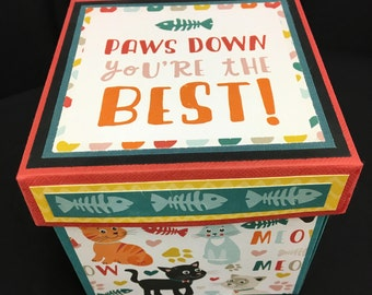 Photo Box - Paws Down You're the Best
