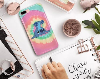 colorfull Stitch phone case, Stitch phone case iPhone 8 Case , Samsung Galaxy S7, iPhone 6, iPhone 5S, iPhone 7 case, iPhone 8 Plus,