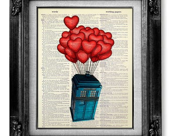 DOCTOR WHO Gift, Doctor Who Decor, Doctor Who Print, Doctor Who Wall Art, Doctor Who Poster, Dr Who Print, Dr Who Wedding GIFT for Husband