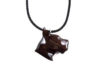 Dog Necklace, Dog Pendant, Dog Jewelry, Boxer Necklace, Boxer Pendant, Wooden Boxer Pendant, Boxer Head Necklace, Men Jewelry Animal Jewelry