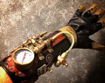 Custom Steampunk Bracer/Gauntlet