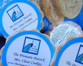Mrs. Claus' Cookies Scented Soy Wax Melting Tarts