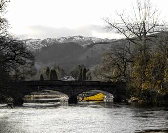 Bridge over the River Teith - Callander, Print Various Sizes