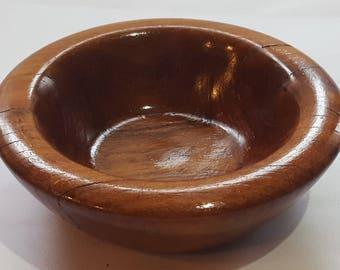 Artisan Mesquite Wood Bowl